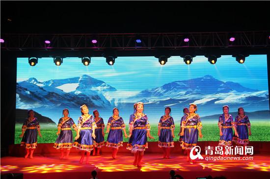 时尚幸福 八大峡街道第五届文化艺术节开幕